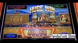 I got a HUGE win on Luxury Line, Cash Express and it was on Freeplay⋆ Slots ⋆️