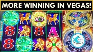 SMALL INVESTMENTS = $$$! 2nd SPIN BONUS SURPRISE on JIN LONG! TREE OF WEALTH Slot Machine WINS!