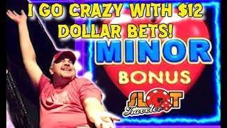 • BIG WIN ON LIGHTNING LINK SLOT MACHINE • $12.50 DOLLAR BETS  • Slot Traveler