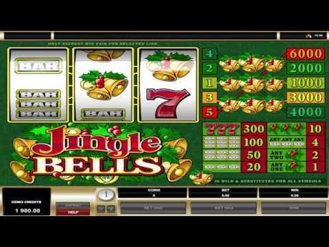 Free Jingle Bells slot machine by Microgaming gameplay ★ SlotsUp