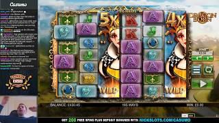 BIG WIN on Dragon Born Slot - £2 Bet