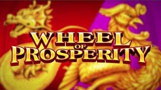 NEW GAME!  WHEEL OF PROSPERITY SLOT MACHINE POKIE BONUSES - PECHANGA CASINO