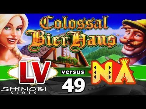 Las Vegas vs Native American Casinos Episode 49: Colossal Bier Haus Slot Machine