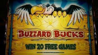 Buzzard Bucks Slot Bonus - Dollar Denomination at Pechanga Resort and Casino