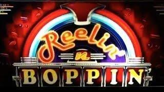 REELIN 'n BOPPIN - Decent Wins - Line Hit/Free Games