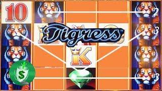 Tigress slot machine, bonus explained
