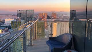 Cosmopolitan Las Vegas NEWLY Remodeled Wraparound Terrace Suite