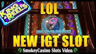 IGT New Turquoise Princess Slot Machine Bonus - Losers Trip