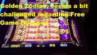 Golden Zodiac, Decent Bonus, but I can't see winning much on it