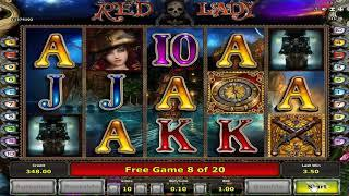 Red Lady slots - 41 win!