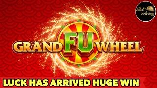 •️NEW SLOT GRAND FU WHEEL•️HUGE WIN LUCK HAS ARRIVED | THUNDER ARROW BONUS SLOT MACHINE