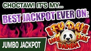 ⋆ Slots ⋆ My BIGGEST JACKPOT EVER on Fu Dai Lian Lian: PANDA ⋆ Slots ⋆ AMAZING Slot Luck at Choctaw Casino