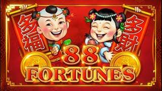 88 FORTUNES AND 5 TREASURES SLOT MACHINE BONUSES