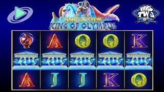 Age of the Gods: King of Olympus Online Slot from Playtech •