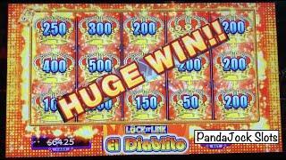 I finally got a FULL SCREEN ⋆ Slots ⋆! Huge win on Lock it Link, El Diablito