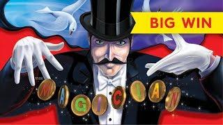The Magician Slot - NICE SESSION, MOST FEATURES!
