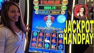 1st HANDPAY Jackpot on Dragon Link Autumn Moon Slot in Vegas!