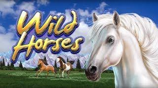 Wild Horses Slot - SHORT & SWEET - $4 Max Bet!