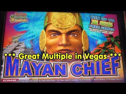 Konami  - Mayan Chief!  Over 300 free spins!