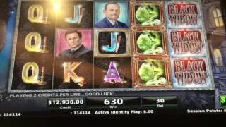 Mega Black Widow Bonus Round at $300/pull at Cosmopolitan Las Vegas