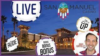 • LIVE PLAY SLOTS • Recorded at San Manuel Casino • with Brian Christopher