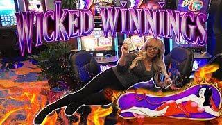 •Wicked Fun on Wicked Winnings IV • Laycee Steele | Slot Ladies