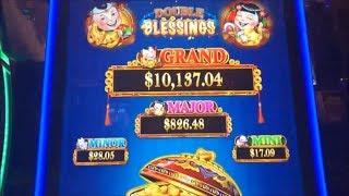 •NEW ! I loved it !•DOUBLE BLESSINGS Slot machine (WMS+SG)•Looks like a Dancing Drums but different•