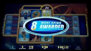 Lady of Egypt Slot Machine 150X *BIG WIN* Bonus Retrigger!