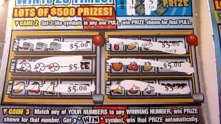 CRAZY WINNING - 5 Consecutive winning lottery tickets!!