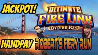 JACKPOT HANDPAY! ROBERT IS ON FIRE! WHERE DOES IT END?