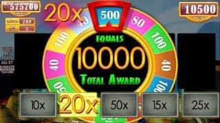 Free Parking Move Feature From MONOPOLY PARTY TRAIN Slots By WMS Gaming