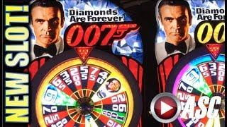•NEW SLOTS!• JAMES BOND 007 (SG) G2E 2017 SNEAK PEEK PREVIEW! SLOT MACHINE BONUS