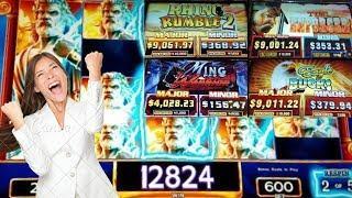 •Zeus $6 Bonus• Will the Enforcer finally pay us• high limit• Dollar slots•