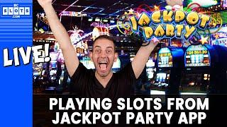 •LIVE Vegas Gambling • Jackpot Party Slots @ Cosmo in Vegas • BCSlots #AD