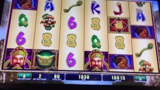 Fortune Ruler Slot Machine ~ FREE SPIN BONUS! ~ Bay Mills Casino! • DJ BIZICK'S SLOT CHANNEL