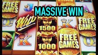 MASSIVE WIN: Wild Wild Samurai + live play on Ocean Magic Grand