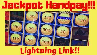 • Live Slots from The Meadows with a Lightning Link Handpay Jackpot •