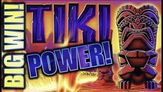 •BIG WIN! TIKI TORCH (NICKELS/QUARTERS)• LUV ME SOME TIKI! Slot Machine Bonus (Aristocrat)
