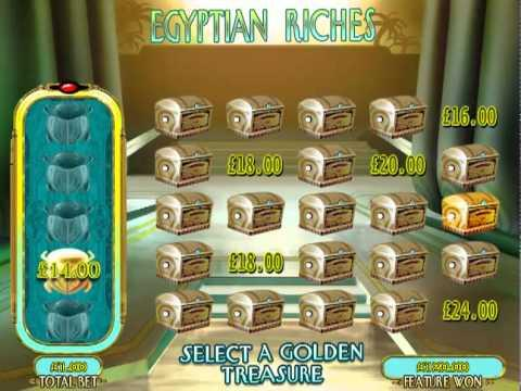£168.00 SUPER BIG WIN (168X STAKE) ON EGYPTIAN RICHES™ ONLINE SLOT AT JACKPOT PARTY®
