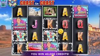 WHEEL OF FORTUNE COAST TO COAST Video Slot Casino Game with a PICK BONUS