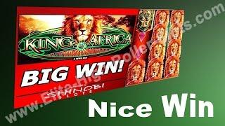 •Nice Win on King of Africa Casino Slot High Limit Gambling! High Limit Gambling! Jackpot, Handpay!