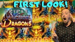 FIRST LOOK• •TRIPLE ACTION DRAGON•(AINSWORTH)NICE WIN BONUS•