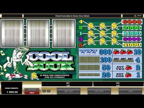 Free Cool Buck slot machine by Microgaming gameplay ★ SlotsUp