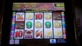Golden Gong Feature Slot Bonus - Aristocrat