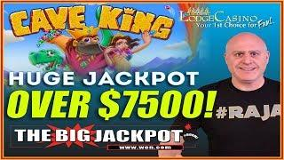 • HUGE JACKPOT ON CAVE KING • + CONTEST ANNOUNCEMENT •️