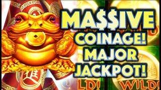•MA$$IVE COINAGE! MAJOR JACKPOT! • SUPER BIG WIN ON ZHEN CHAN Slot Machine Bonus (SG)
