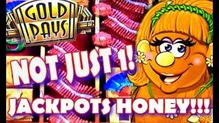• JACKPOT HANDPAY • GOLD PAYS GOLDEN PRINCESS & BETTI THE YETTI • CAUGHT LIVE! •