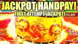 ★ Slots ★JACKPOT HANDPAY! FIRST ATTEMPT!★ Slots ★ DANCING DRUMS EXPLOSION Slot Machine (SG)