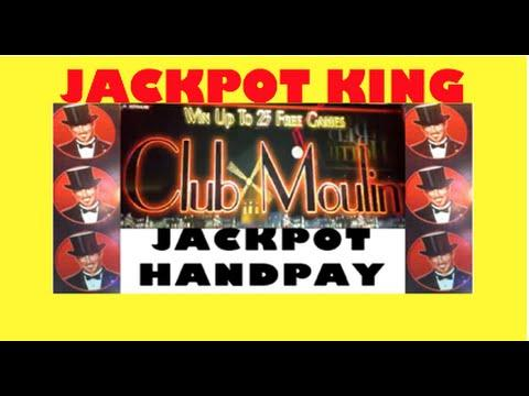 Club Moulin **JACKPOT HANDPAY** plus AWESOME warm up SPINS