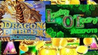 DRAGON EMBLEM & LUCKY O'LEARY JACKPOTS FREE SPINS